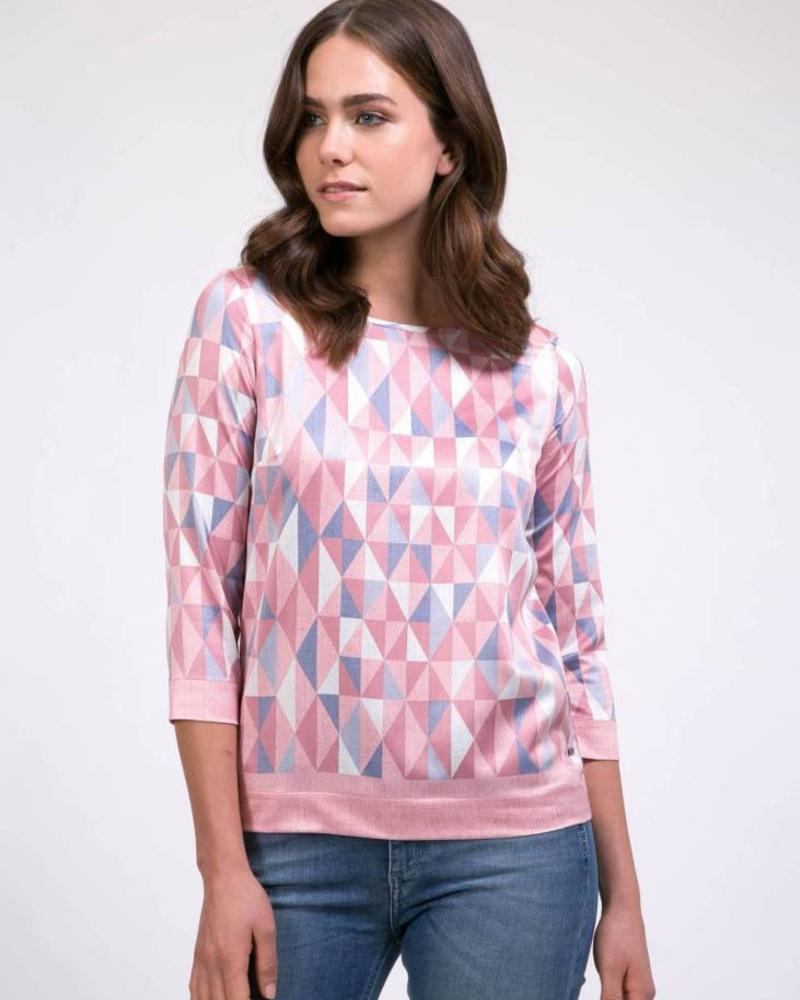 CAVALLARO Grafica Top - Light Pink - 44623