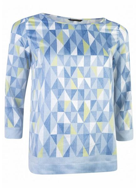 CAVALLARO DAMES Grafica Top - Medium Blue - 62513