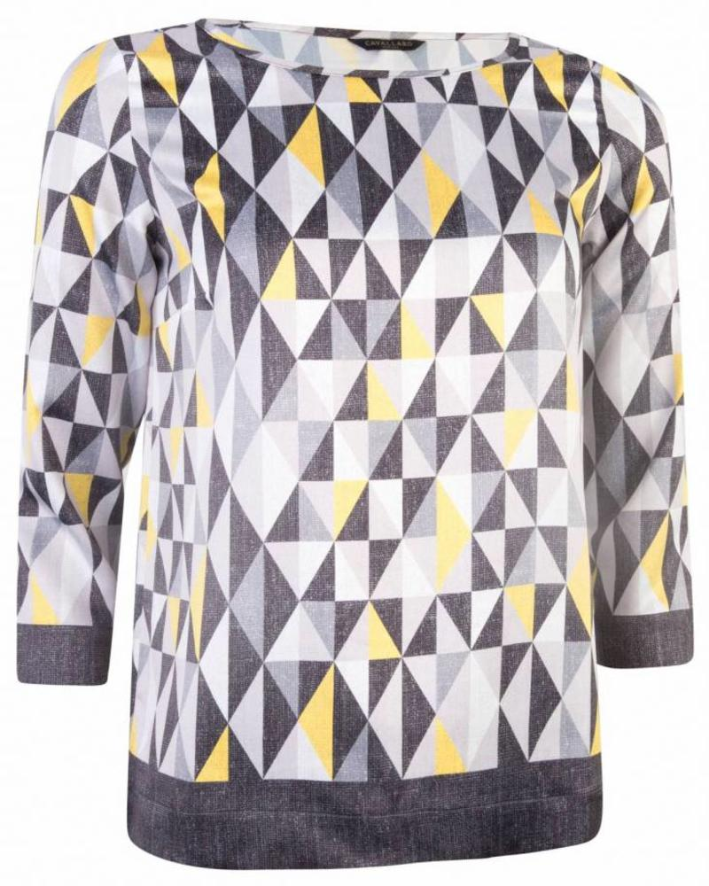 CAVALLARO Grafica Top - Black - 90303