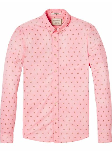 SCOTCH & SODA 142483 - REGULAR FIT- Classic oxford shirt - Combo E - 221