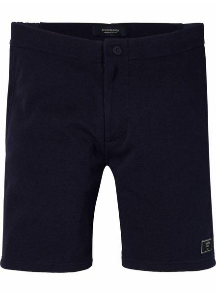 SCOTCH & SODA 142458 - Pique chino short with nylon waistband - Night - 2