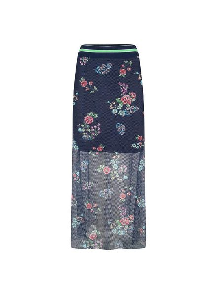 JANE LUSHKA SKIRT LONG BLUE - SMF518SS40