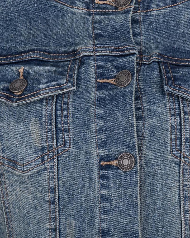 ESQUALO Jacket jeans tap blue