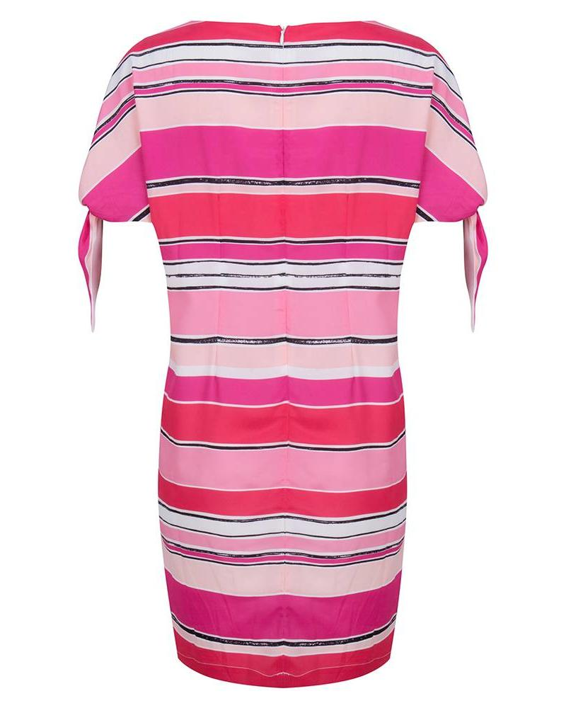 ESQUALO Dress stripes knot