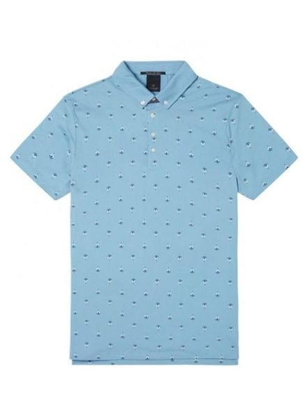 SCOTCH & SODA 142730 - Classic clean jersey polo with mini all-over print - Combo D - 220