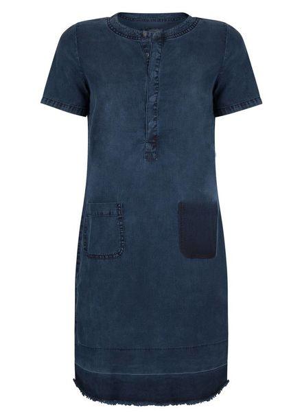 GEISHA Dress 87004 - 000880 - dark blue denim