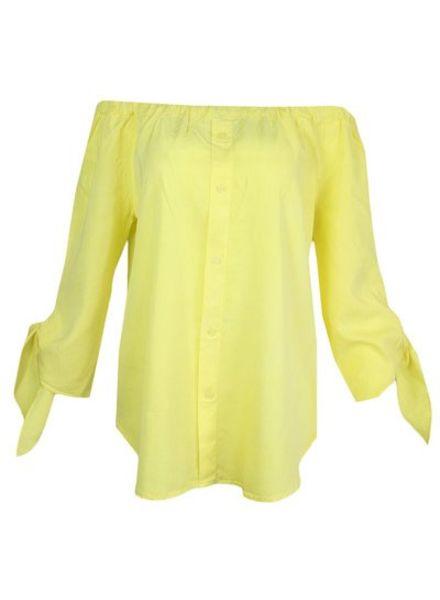 GEISHA Top 83321 - 000150 - yellow