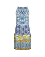 ESQUALO Dress slv/lss mosaic