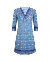 ESQUALO Dress ethnic print