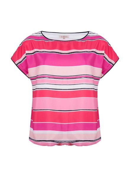 ESQUALO Top stripes