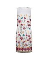 ESQUALO Dress color embr mesh