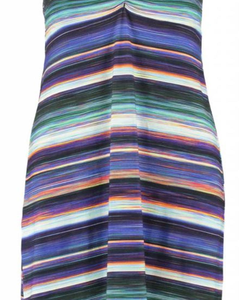 GEISHA Dress Spaghetti 87075 - 000675 - navy/coral