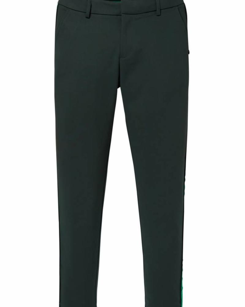 SCOTCH & SODA 146697 Tailored stretch pants with a contrast side panel 19