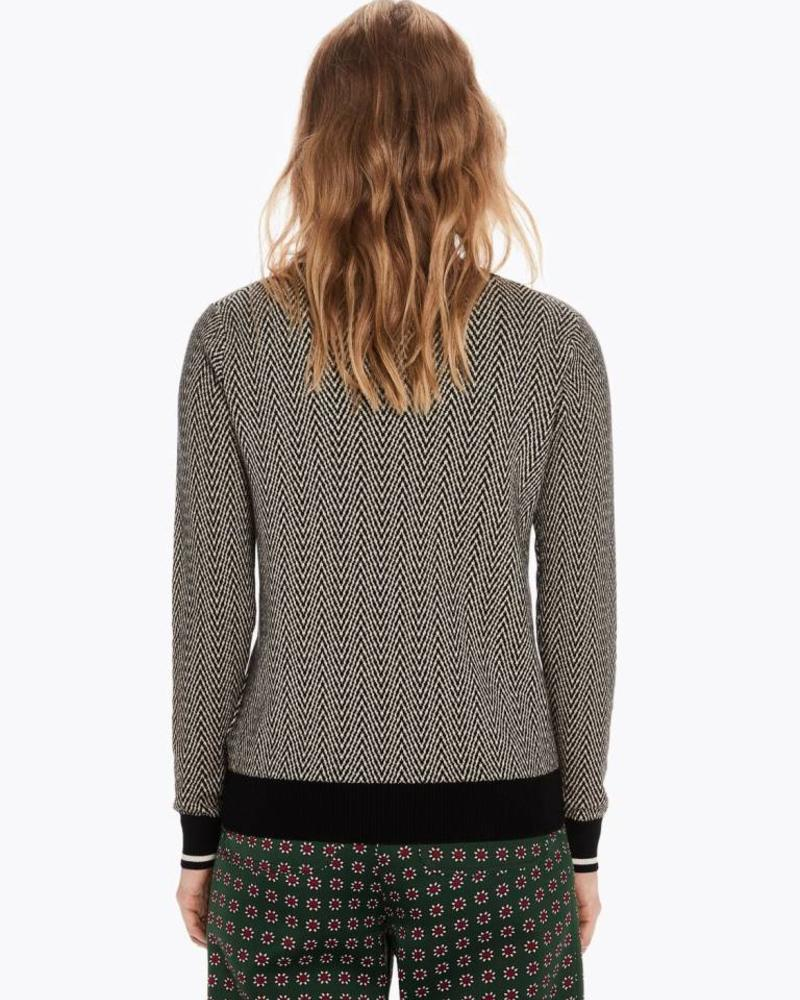 SCOTCH & SODA 148502 Basic pull with special ribs 0605