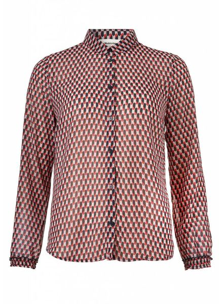 MODSTRÖM 53699 James print shirt