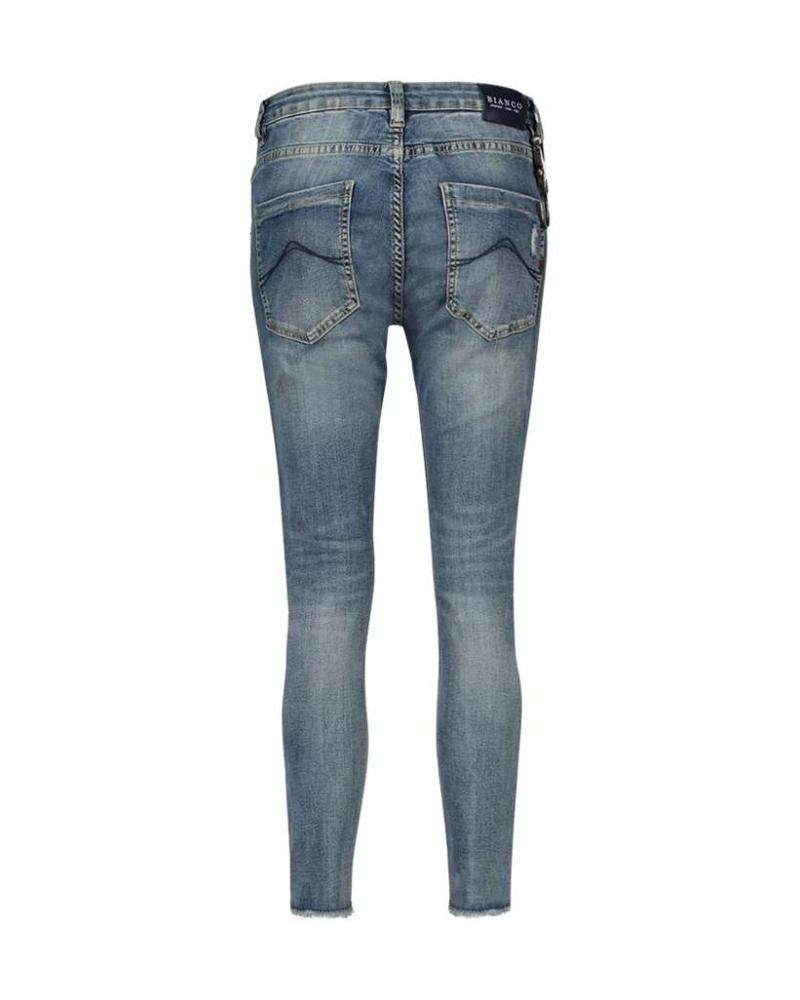 BIANCO FREESIA- 1218371 BLUE DENIM