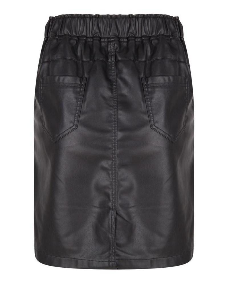 ESQUALO F18.04506 Skirt PU elastic WB