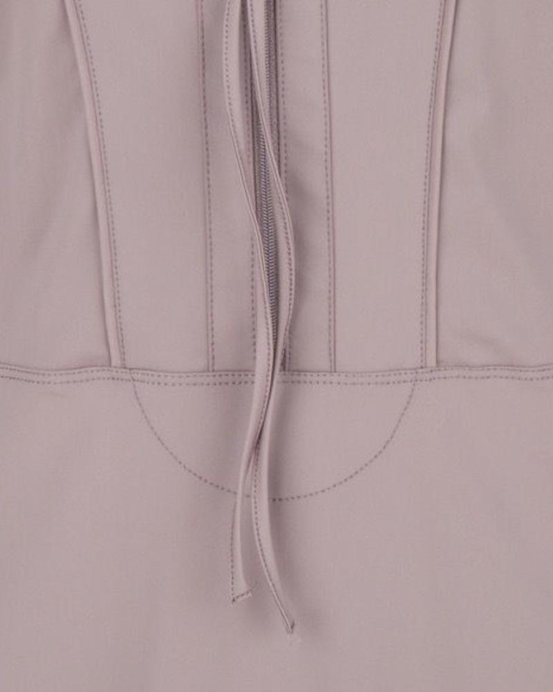ESQUALO F18.05507 Dress traveller zip black