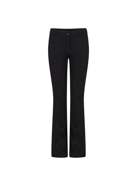 ESQUALO F18.05516 Trouser punto flair black