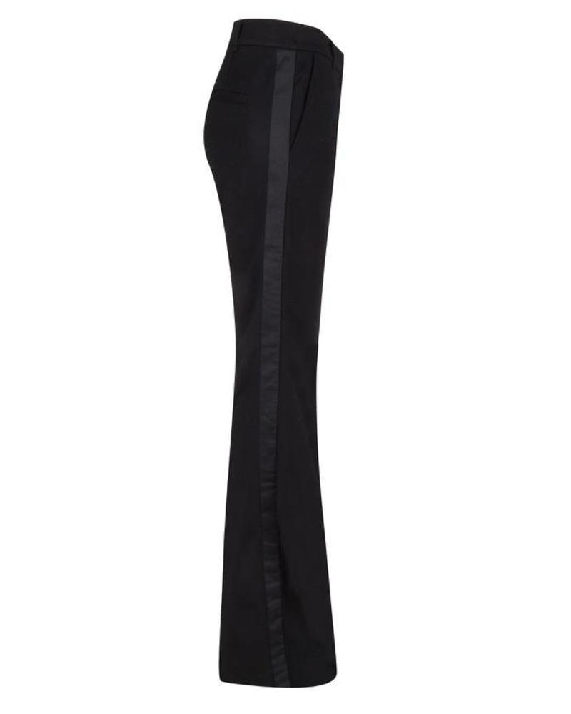 ESQUALO F18.05516 Trouser punto flair black