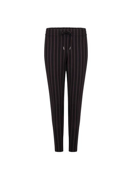 ESQUALO F18.09506 Trouser stripes black