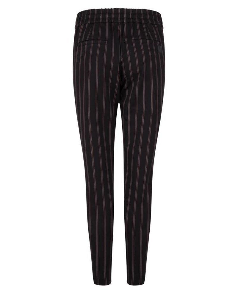 ESQUALO F18.09506 Trouser stripes black