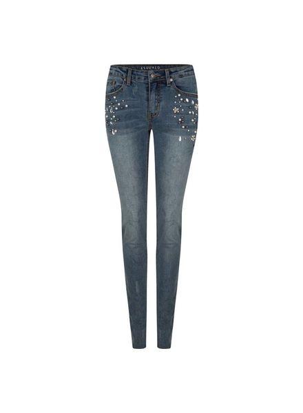 ESQUALO F18.12511 Jeans pearls blue