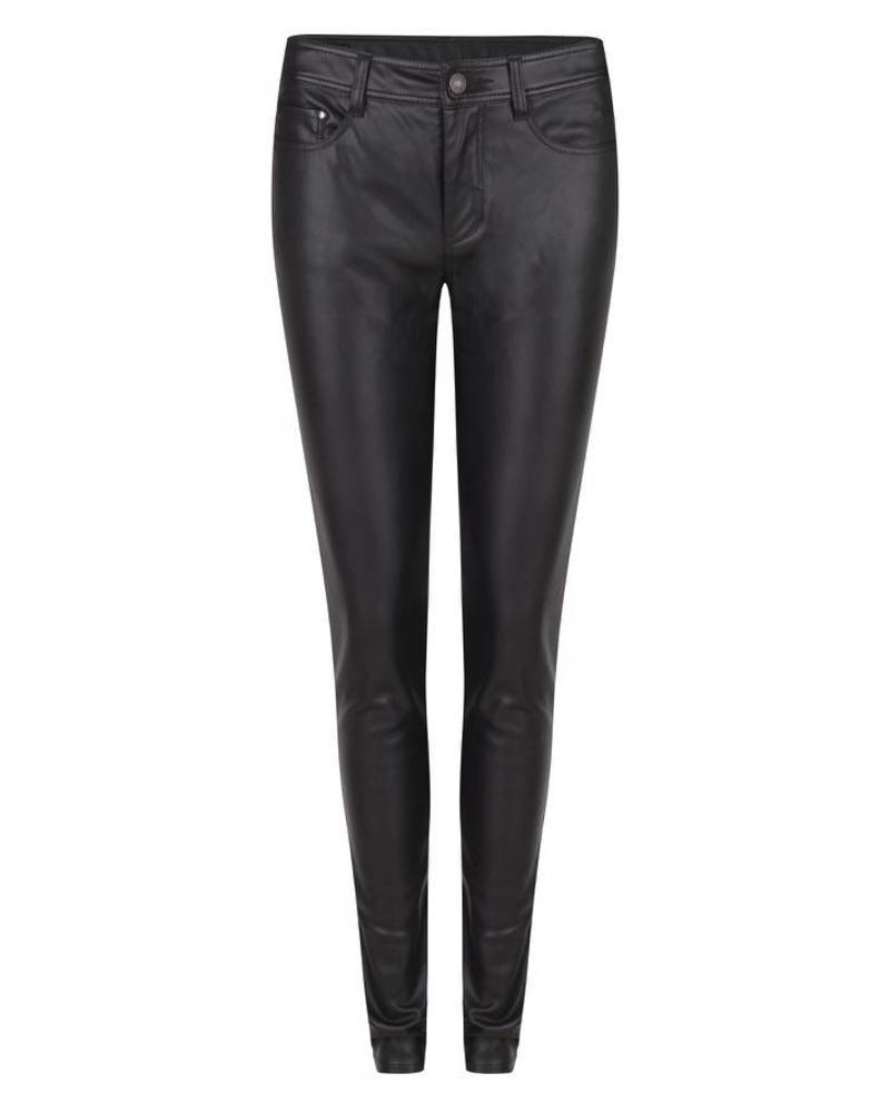 ESQUALO F18.04503 Trousers PU black