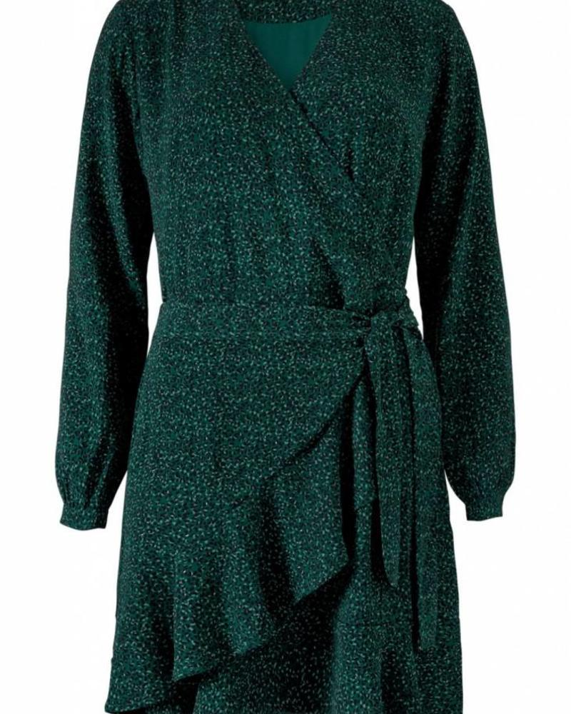 MODSTRÖM 53718 Jerkins print wrap dress