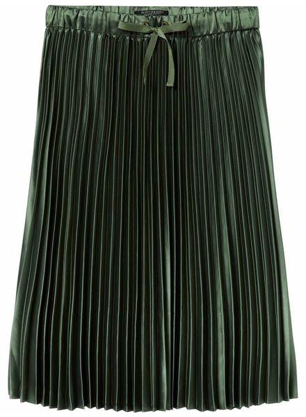 SCOTCH & SODA 146727 Shiny pleated skirt