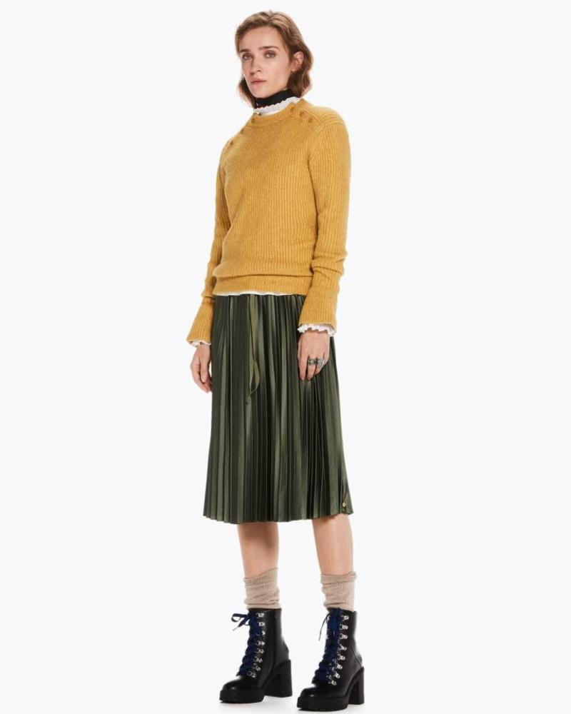 SCOTCH & SODA 146727 Shiny pleated skirt