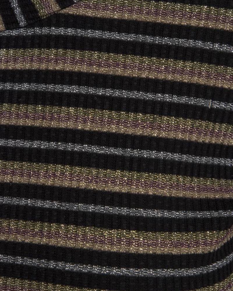 GEISHA 83777-20 Top black/lurex/multi
