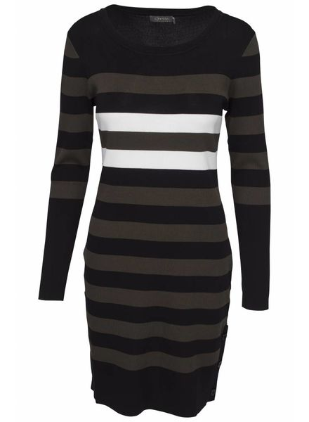 GEISHA 84513-10 Dress army/black