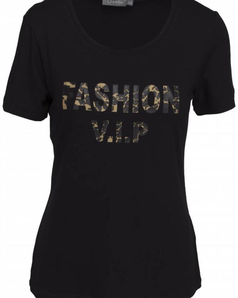 GEISHA 82545-60 T-shirt black