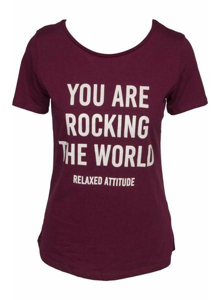 GEISHA 82565-41 T-shirt burgundy