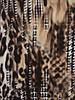 GEISHA 83772-20 Top black/off-white comb