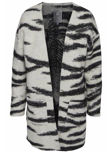 GEISHA 84574-20 Vest black/off-white comb