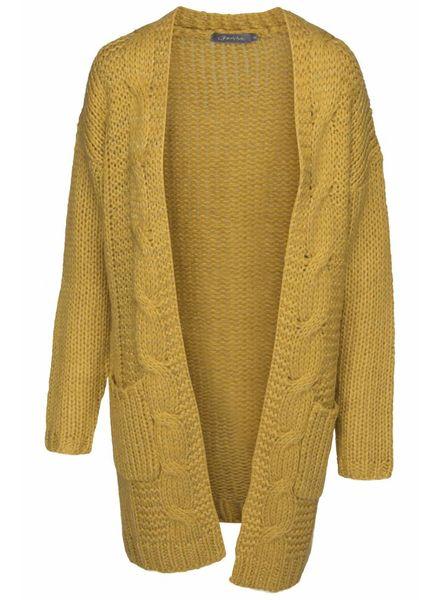 GEISHA 84558-22 Vest mustard