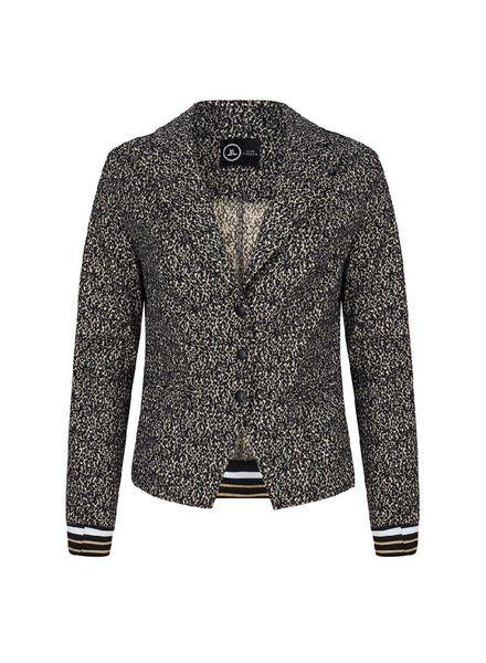 JANE LUSHKA CTL118AW102 Blazer Black Gold