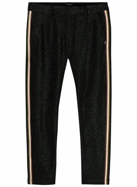 SCOTCH & SODA 146699 Lurex tailored pants with tape detail