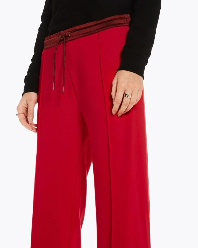SCOTCH & SODA 146690 Clean sweat pants with contrast woven waistband