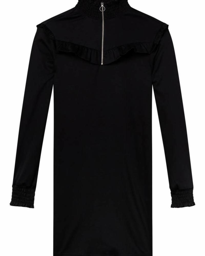 SCOTCH & SODA 146618 Smocked high neck jersey dress 08