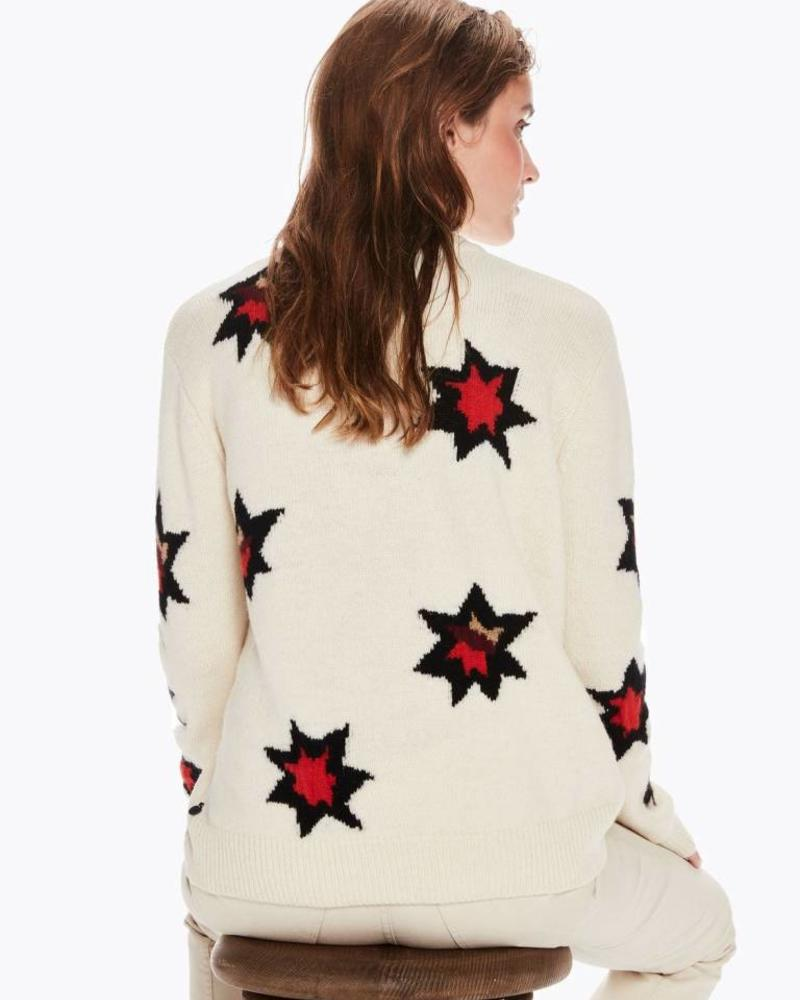 SCOTCH & SODA 146553 Knitted pull with stars