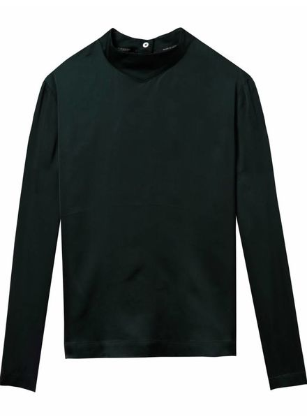SCOTCH & SODA 146515 High neck top with press buttons at backpanel