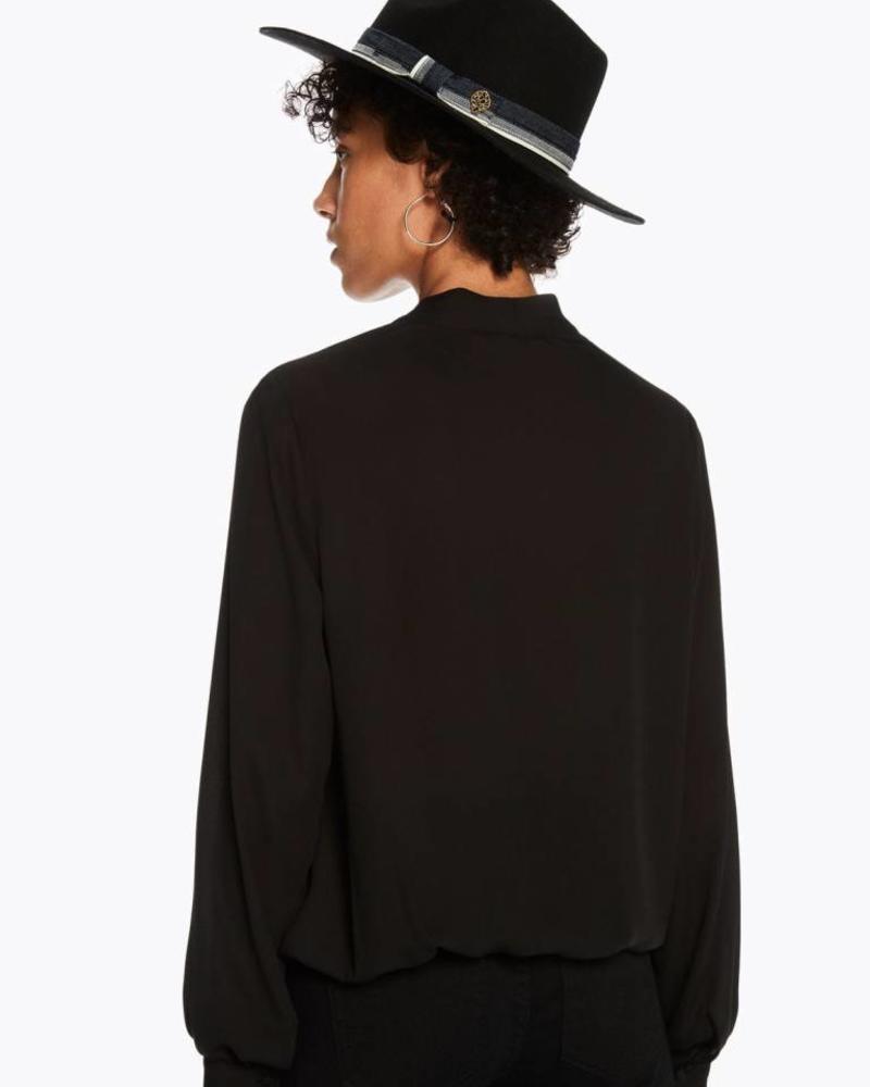 SCOTCH & SODA 146502 V-neck top with tie detail 08