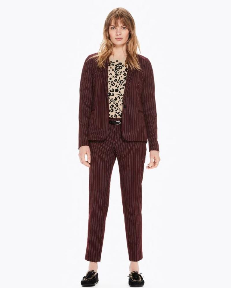 SCOTCH & SODA 146290 Classic tailored blazer in stripes