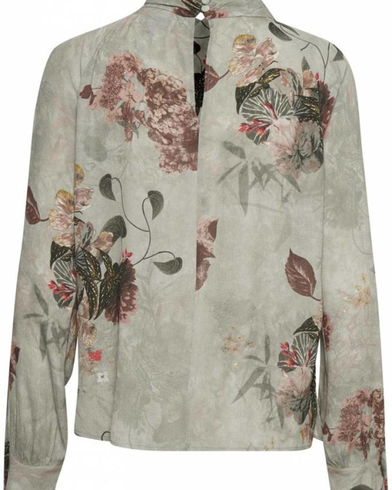 Denim hunter 10701863 Raven Floral Blouse Misty Rose