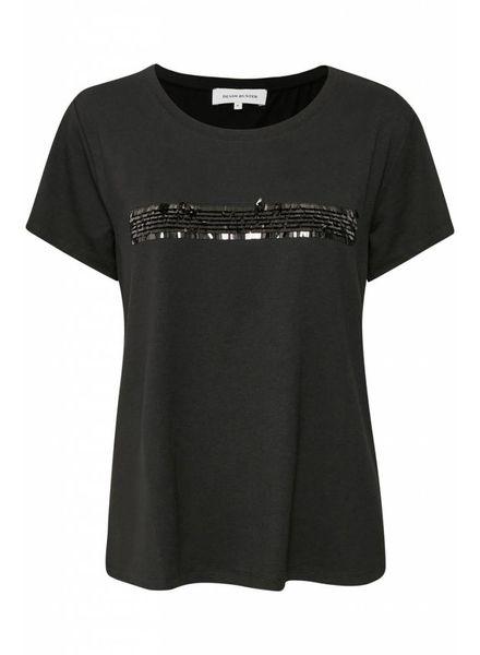 Denim hunter 10702015 Farah T-shirt Black
