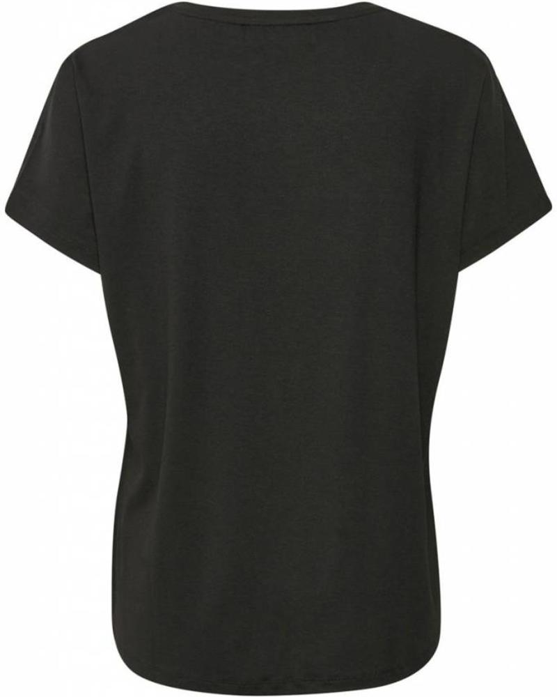 Denim hunter 10702015 Farah T-shirt Black