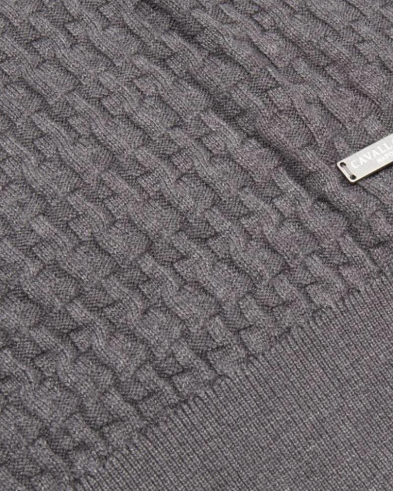 CAVALLARO 1885011 Aurelio Pullover Mid Grey